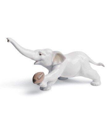 Lladro Elephant Touchdown - Elephant Lladro