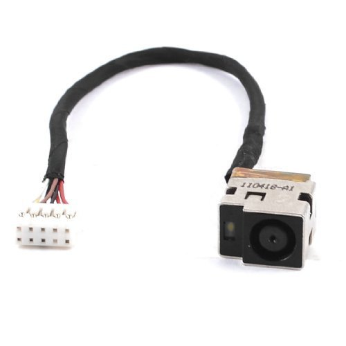 New AC DC Power Jack Plug Socket Cable Harness for HP Pav...