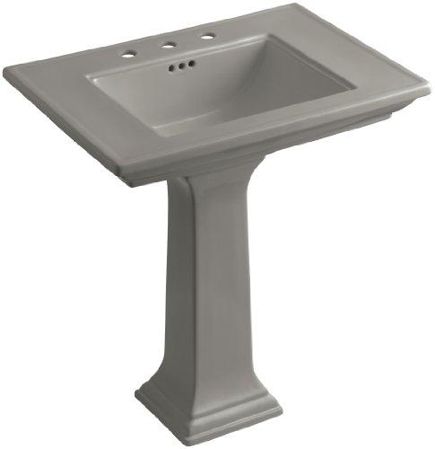 8 K4 Cashmere Memoirs Pedestal - KOHLER K-2268-8-K4 Memoirs Pedestal Bathroom Sink with 8