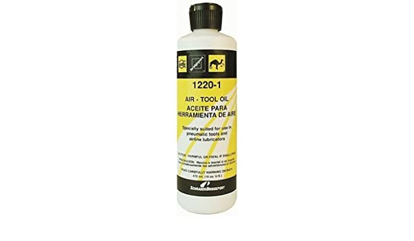 Amflo 1220-1 16 oz Light Pneumatic Tool Oil