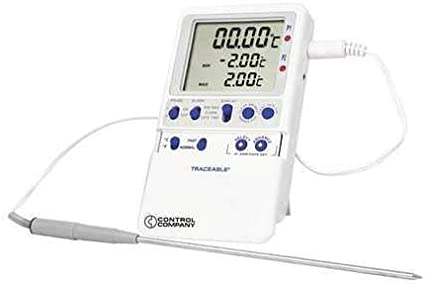 Digital Thermometer 28 Degrees to 35 Degrees F for Wall or Desk Use