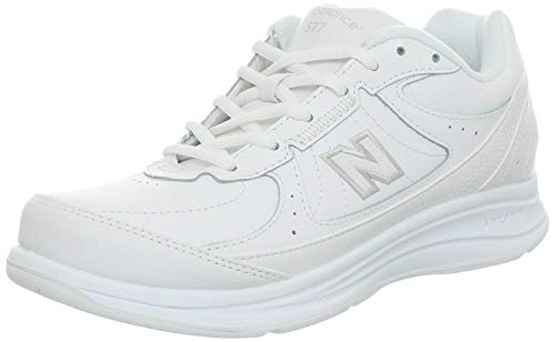 Best Women Walking Shoe - New Balance Women's WW577 Walking Shoe, White, 9.5 B US