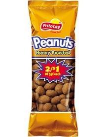 Frito Lay Honey Roasted Peanuts, 1.375 Oz Bags (Pack of 32)