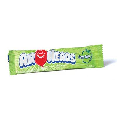 Candy - .55 oz. Bar, 36 Pack (Airheads Green Apple)