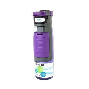 Contigo Autoseal Kangaroo Water Bottle, 24 oz Purple 1.0 ea