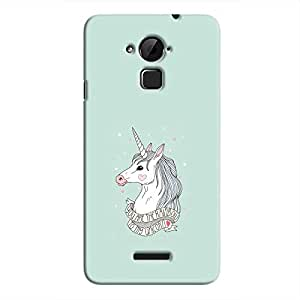 Cover it up Rainbow Unicorn Hard Case for Coolpad Note 3 - Multi Color