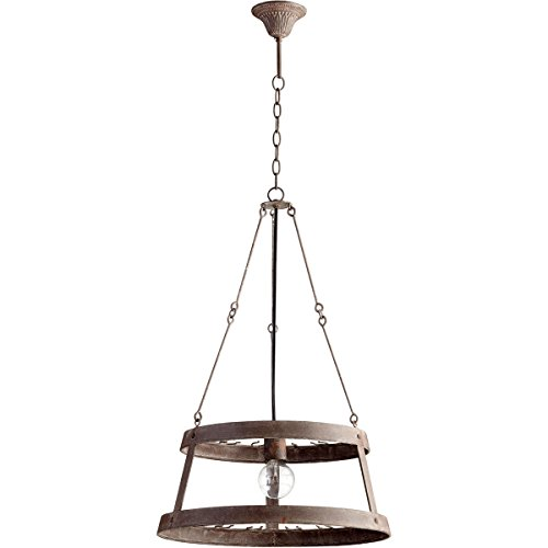 Cyan Design 05312 Double Winey 1 Light Full Size Pendant, Rustic