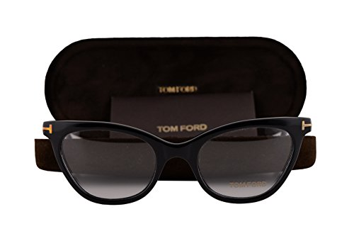 Tom Ford FT5271 Eyeglasses 49-19-140 Black 001 - Tommy Kate And Sunglasses