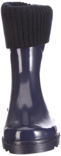 BE ONLY DEMI BOTTE BOOTSOCKS MARINE DEMI BOTTE BOOTSOCKS MARINE - Botas de caucho para mujer Azul