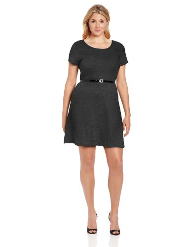 Buy belted knit ponte dress - 4