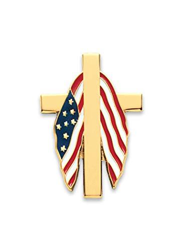 AmeriMark Patriotic Cross Tack -