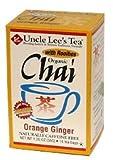 Uncle Lees Tea 100% Organic Orange Ginger Tea 18 Tea Bags Review