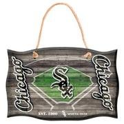 Chicago White Sox Field Door Wood Sign