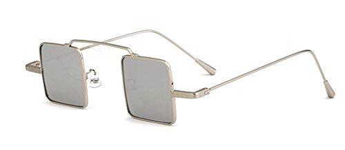 de cercle du style vintage soleil D lunettes inspirées Lennon métallique rond retro polarisées en dFBvw