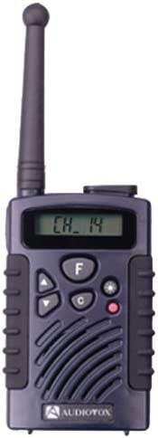 Audiovox FR314B 2-Mile 14-Channel FRS Two-Way Radio Blue