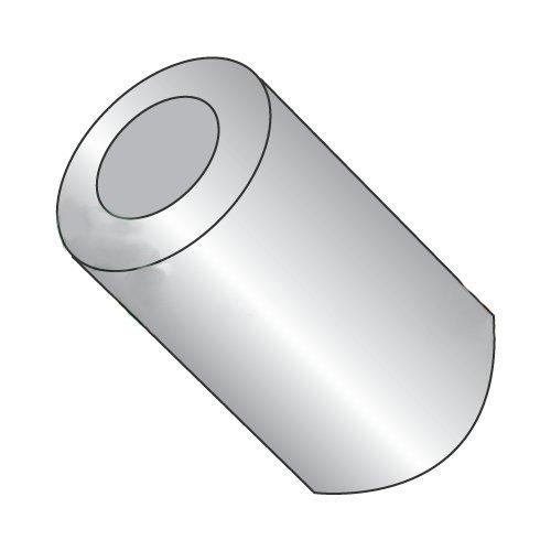 1//4 #8 #8 x 1//2 1//2 1//4 OD Round Spacers Length Aluminum//Outer Diameter Carton: 1,000 pcs Hole Size