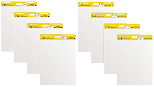 Post-it Super Sticky Easel Pad, 25 x 30 Inches, 30 Sheets/Pad, 1 Pad (559SS), Large White Premium Self Stick Flip Chart Paper, Super Sticking Power (2-(Pack of 4)) by Post-it (Image #7)