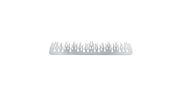 GG Grand General 30111 Stainless Steel 12 X 3 12 X 3 Inches Bottom Without Backing Plate