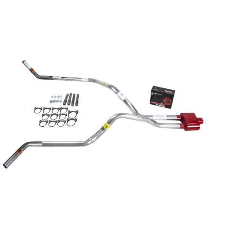 Truck Exhaust Kits - DIY dual exhaust system 2.5 pipe Cherry Bomb Extreme Corner (Truck Dual Exhaust Systems)