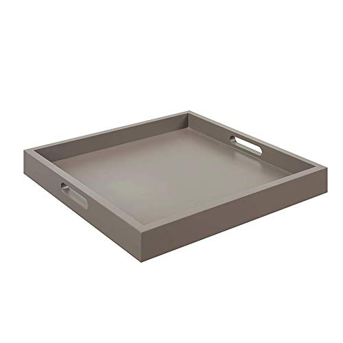 Convenience Concepts Palm Beach Serving Tray, Gray