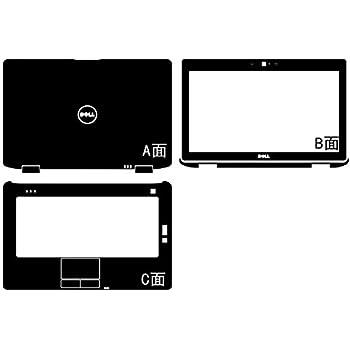 Waterproof Laptop Black Carbon Fiber Vinyl Skin Sticker Cover Guard for Dell Latitude E6430 E6420 14-inch