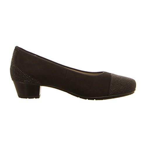 Mujeres Zapatos de tacón schwarz negro, (schwarz) 12-47612-01