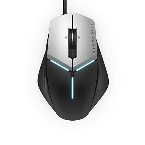 Alienware Elite Gaming Mouse AW959 with 12, 000 DPI Pixart Optical Sensor Featuring Redesigned Side Wings for Improved…