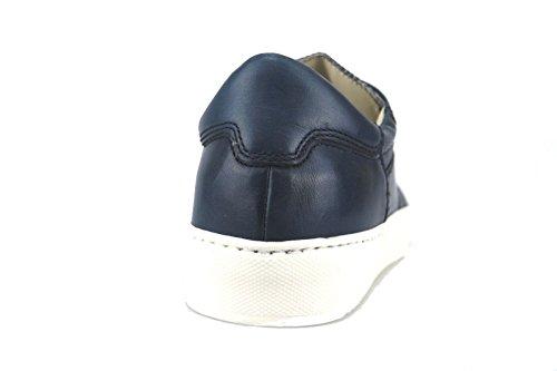 US 40 Sneakers EU AH389 Leather Liu Blue 7 Man Jo 8q5w0z
