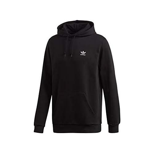 chollos oferta descuentos barato adidas Essential TRF HDY Sudadera con Capucha Hombre Negro Black XS
