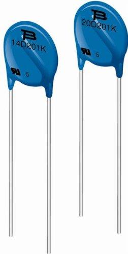 Nonreturnable Bourns MOV-14D821K Varistor; Metal Oxide; 14 mm; 820V; 10/% 5 pieces