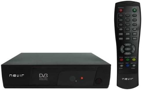 Nevir NVR-2582 D - Sintonizador TDT, Color negro: Amazon.es ...