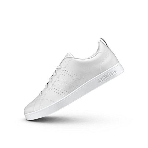 Mujer Clean Blanco Adidas Advantage Zapatillas para Vs 4nUwP