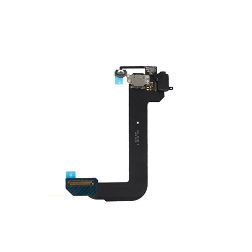 - Charging Port Flex Cable Dock Connector USB Port Repair Part for iPod Touch 6 6th Gen (Black)