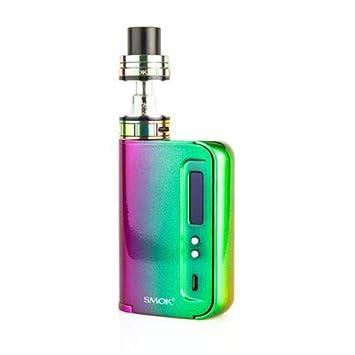 SMOK OSUB King 220W TC Kit de inicio de Cigarrillo Electrónico (Arco Iris) Sin Tabaco y Sin Nicotina
