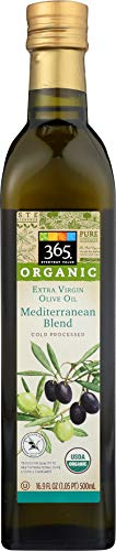 Value Olive (365 Everyday Value, Organic Extra Virgin Olive Oil 100% Mediterranean Blend, 16.9 fl oz)