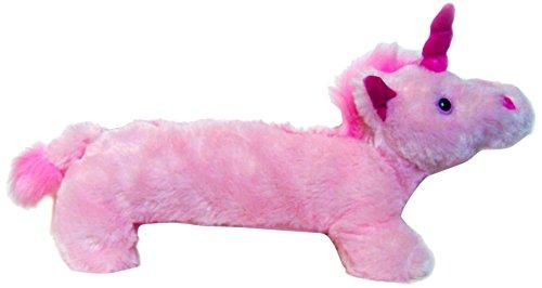 Inkology Plush Unicorn Pencil Pouch, Pink/Magenta (496-7)