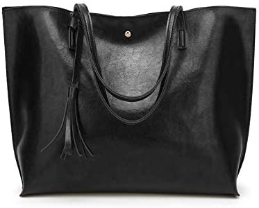 Leather Shoulder Dreubea Capacity Handbag