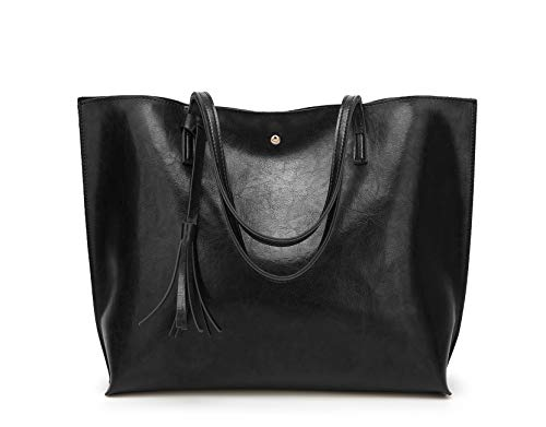 Women's Soft Leather Tote Should...