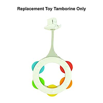 Replacement Parts for Step 'n Play Piano - Fisher-Price 4 in 1 Step 'n Play Piano DJX02 ~ Replacement Toy Tamborine: Toys & Games