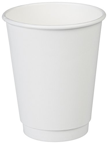 AmazonBasics Insulated Paper Cup, 12 oz, 500-Count