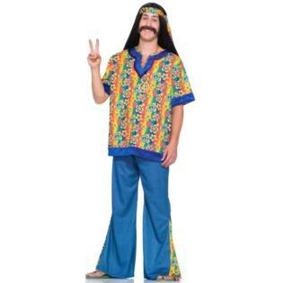Far O (Faux Suede Hippie Vest Adult Costumes)