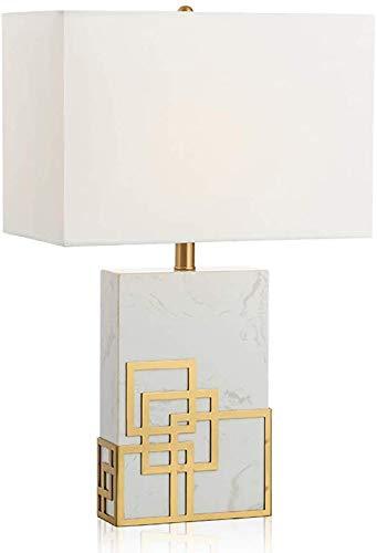Lámpara de Mesa Negro Moderno Modelo mármol Buena Rendimiento de ...