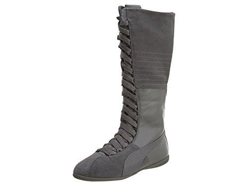PUMA Women's Eskiva Very Hi WN's Boxing Shoe, Steel Gray, 10 M US