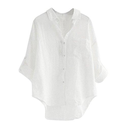 [M-2XL] レディース Tシャツ 無地 ブラウス シャツ 大きなサイズ ラペル 長袖 トップス おしゃれ ゆったり カジュアル 人気 高品質 快適 薄手 ホット製品 通勤 通学