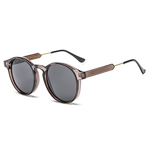 (Sinyoyo Retro Round Sunglasses Men Women Sun Glasses)