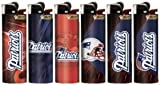 6pc Set BIC New England Patriots NFL Officially Licensed Cigarette Lighters