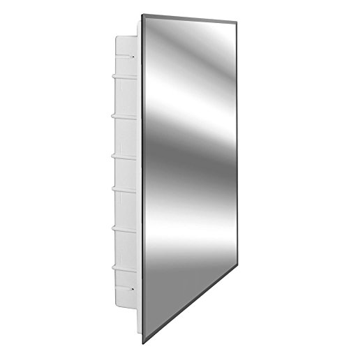 Zaca Spacecab Nunki Recessed Beveled Edge Medicine Cabinet, 16