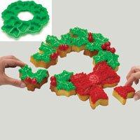 Roshco Create N Celebrate Wreath Pull Apart Cupcake Silicone Baking Mold