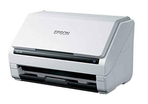 Epson DS-530 Document Scanner: 35ppm, TWAIN & ISIS Drivers (Renewed)