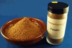 Spice Falafel (Falafel Spice 2.0 oz - Zamouri Spices)